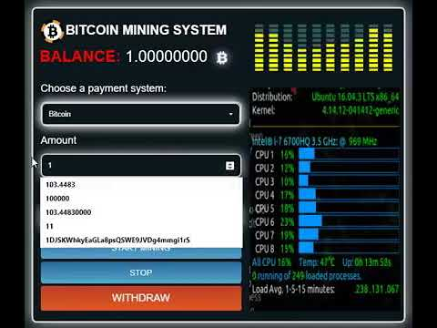 Bitcoin X Mining Software System Up to 0.007 BTC PERDAY !!