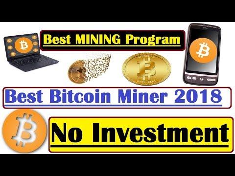 Free Bitcoin Mining Program 2018