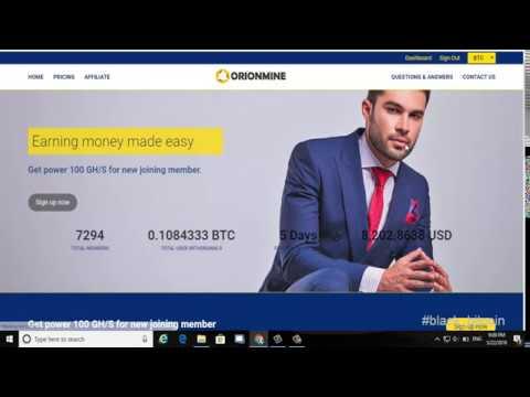 New Bitcoin Cloud Mining 2018 - 100 GHS Haspowe Bonus / 0.0001 BTC || Bitcoin 2018