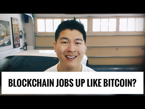 Lots of Blockchain Jobs - Rise and Fall with Bitcoin Price?