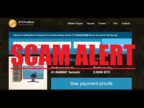 Beware of these Sites Bitcoin Miners Scams Or Realty ???????