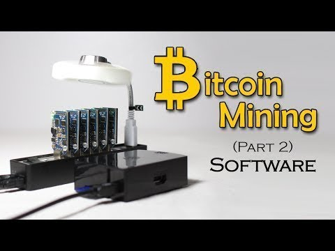 Cryptocurrency - DIY Bitcoin Mining | Software part 2 #HDFr