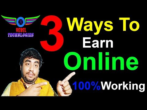 3 Best ways to earn Money Online in Hindi 2018 / Make Money In Zero Investment