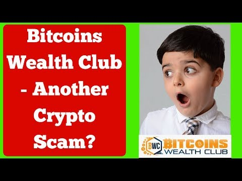 IS BITCOINS WEALTH CLUB A SCAM? - 5 Red Flags Make Me Suspicious!