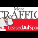 Earning money online with Leased Ad Space | How to get more traffic online