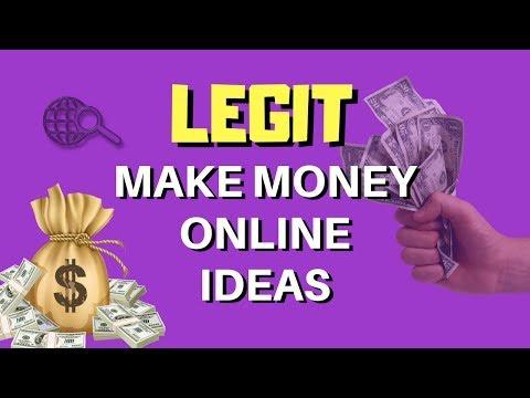LEGIT Make Money Online Ideas 2018