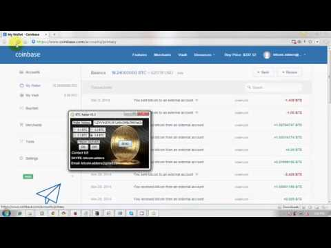 Coinbase Bitcoin Adder 2014 December 16 ( Trusted 100% genuine software)
