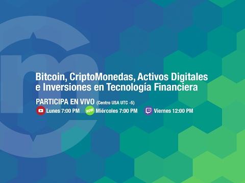 En vivo hablando de #Bitcoin y #Criptomonedas - Junio  7, 2018