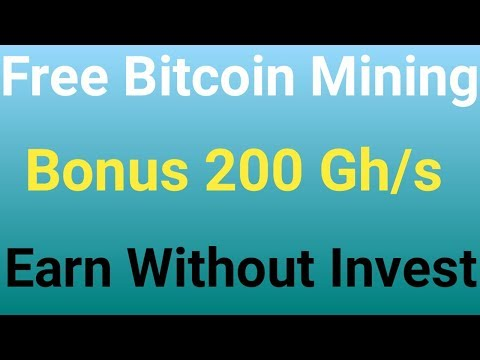 New Best Free Bitcoin Mining Sites | Signup Bonus 200 Gh/s | Free Bitcoin Cloud Mining 2018