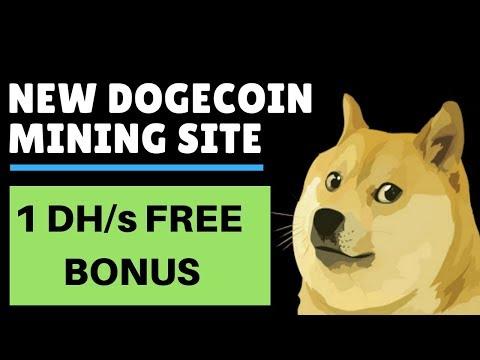 Free Dogecoin Cloud Mining 2018 | DOGEMINER :: 1 DHS Free Bonus| Free Dogecoin
