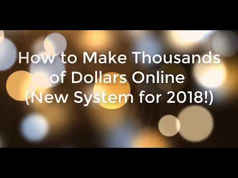 Make Money Online 2018 $100 day Real Proof   New System   Newbies Making Money!