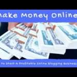 Make Money Online. 3 Steps to Start A Profitable Online Blogging Business TODAY!