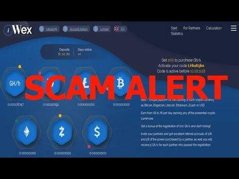 『Scam News』#1 Iwex.cc Scam Alert