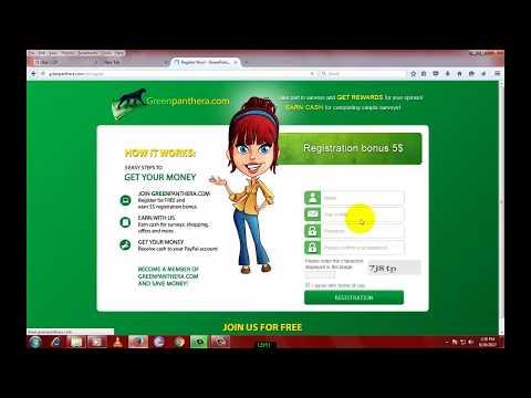 Make money online - EARN 50 $ TO 70 $ GREEN PANTHERA