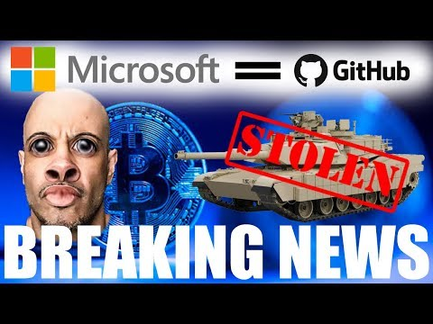 I AM BEING SUED! Bitcoin Cash developer STEALS TANK, Microsoft buy Github, Ask FM ICO Dies