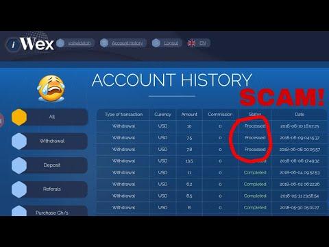 IWEX.CC FREE BITCOIN CLOUD MINING SCAM! UPDATE