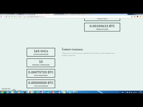 Withdrawal proof from Hashmania ! New bitcoin cloud mining website to wallet. Result: works 100%