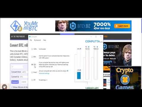 Computta mining sitesi tanıtımı   akıllı mining   bitcoin madenciliği türkçe Как заработать в интерн