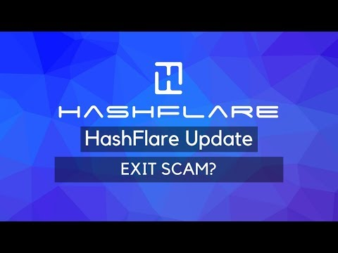 Hashflare Update: EXIT SCAM? Of is er iets anders aan de hand?
