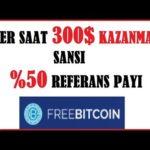 Bedava Bitcoin Kazan – Her Saat 300$ Kazanma Sansi – Scam-Legit?