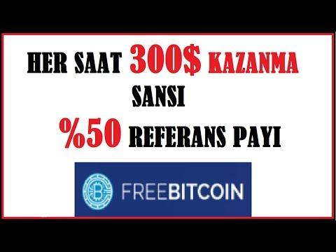 Bedava Bitcoin Kazan - Her Saat 300$ Kazanma Sansi - Scam-Legit?