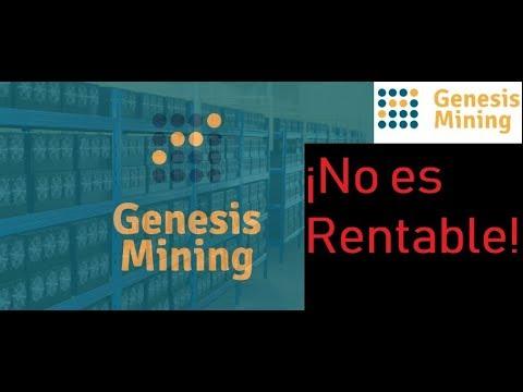 Nuevos contratos de mineria de Bitcoin en Genesis Mining NO son rentables