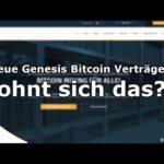 neue Genesis Mining Bitcoin Cloud Mining Verträge Juni 2018