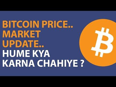 Bitcoin Price, Market Update - Hume Kya Karna Chahiye ? in Hindi