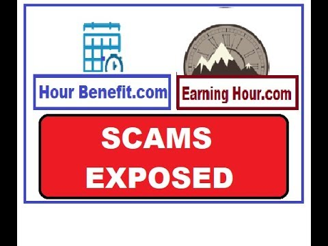 Hour-Benefit AKA Earning-Hour (COPY CAT SCAMMERS)