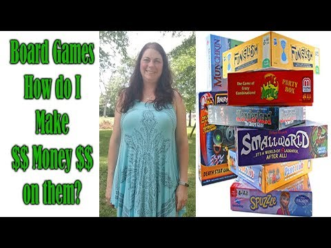 BOARD GAMES How do I make Money on them? Online Reselling