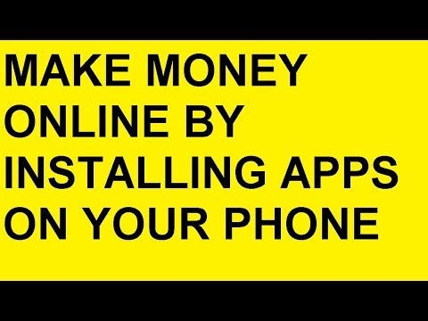 How To Make Money Online Fast From Home Installing APPS 2018 [LIVE METHOD]