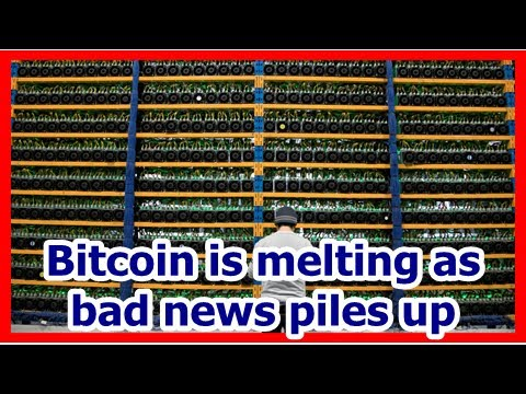 Today News - Bitcoin is melting as bad news piles up