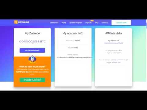 BTConline. Bitcoin mining pool Earn up to 30.000 satoshi per day for FREE
