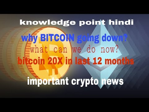 why bitcoin price going down?--what to do now?---and other crypto news--watch here