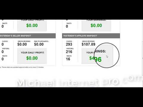How I Make $44.96day From Home & How I Make Money Online Using Paypal with Michael Internet Pro.
