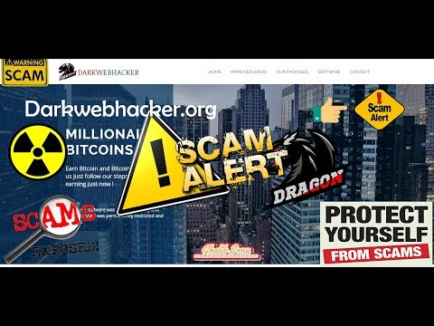 Bitcoin Generator Darkwebhacker-org Scam Don't Buy
