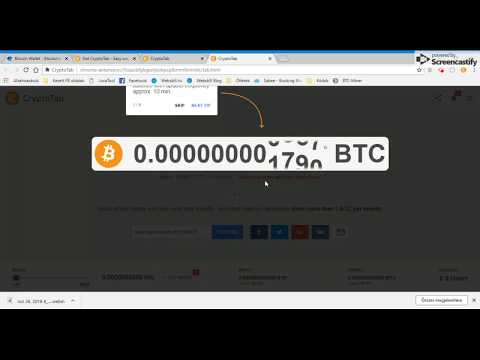 Get CryptoTab -  Easy way for Bitcoin Mining
