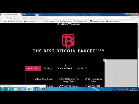 The Best Bitcoin faucet - Parece ser Scam!
