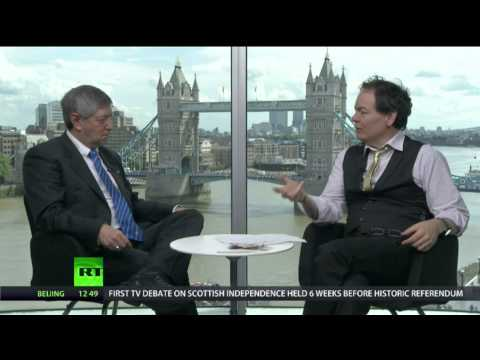 Peter Greenhill talks to Max Keiser, RT News