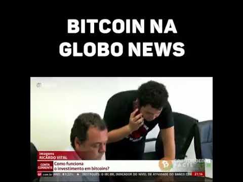 Globo News no programa conta corrente fala sobre Bitcoin.
