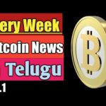 Weekly Bitcoin News no.1 In Telugu, crypto currency news, Bitcoin news, daily Bitcoin news in Telugu