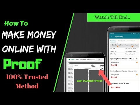 How To Make Money Online Trusted Method With Proof in 2018 INDIA