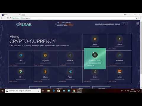 Exar.cc  SCAM !!!.[Guadagnare Bitcoin]