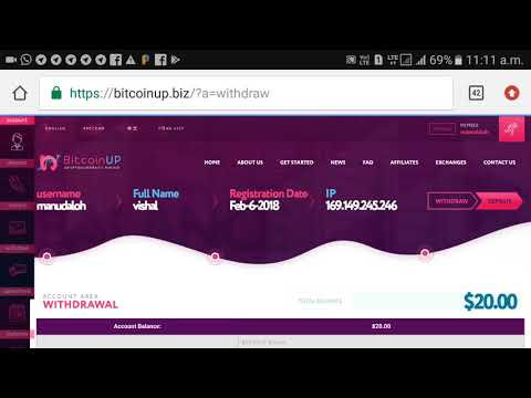 New Bitcoin Mining Website 2018 with Live withdrawl proof