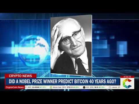 News Did Nobel Laureate Friedrich Hayek Predict Bitcoin 40 Years Ago.......