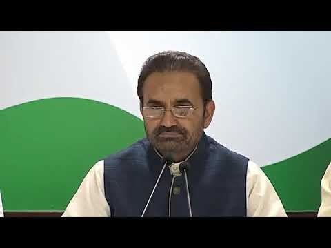 Gujarat Bitcoin Scam: Press Briefing By Shaktisinh Gohil at Congress HQ