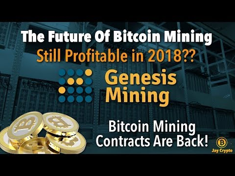 New BITCOIN mining contracts on Genesis Mining 2018!