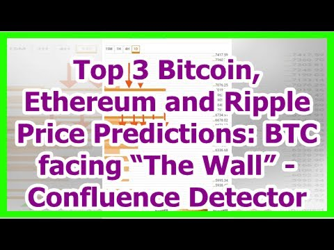 "Today News - Top 3 Bitcoin, Ethereum and Ripple Price Predictions: BTC facing ""The Wall"" - Confluen"