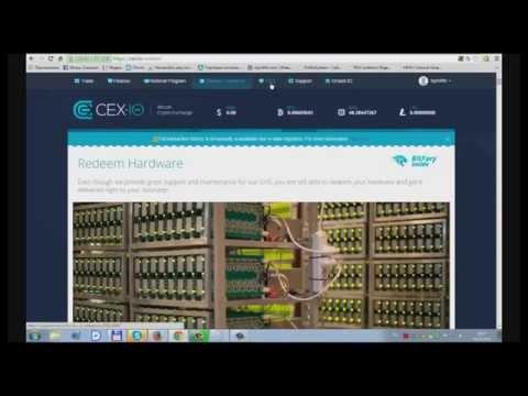 Профисиональный виртуальный майнинг на CEX.IO