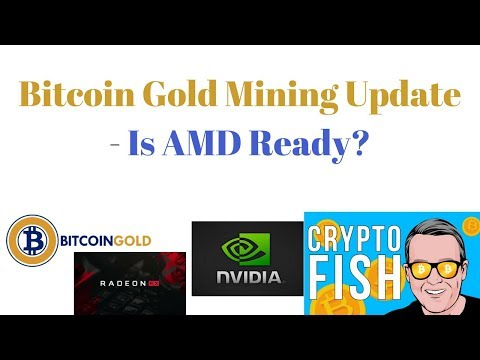 Bitcoin Gold Mining Update - Is AMD Ready?